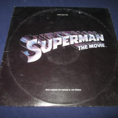 John Williams - Superman The Movie _ dublu vinyl, 2 x LP, album _ Warner (SUA ) - Muzica soundtrack warner, VINIL