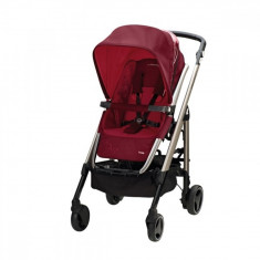 Carucior 3 in 1 Loola2 Raspberry Red Bebe Confort - Carucior copii 3 in 1 Bebe Confort, Maro