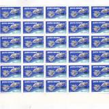 APOLLO 9 SI 10 ( LP 702 ) 1969 BLOC DE 30 - Timbre Romania, Nestampilat