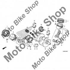 MBS Cuzinet biela spate Honda VFR 800 X 2015, verde, #9, Cod Produs: 13237ML7690HO - Cuzineti Moto