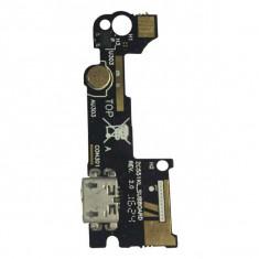 Banda Flex Placa Circuit Conector Incarcare Si Microfon Asus Zenfone GO ZB551KL Originala