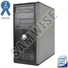 Calculator Dell Optiplex 760 MT Intel Core2Duo E8400 3GHz 4GB DDR2 160GB DVD-RW - Sisteme desktop fara monitor Dell, Intel Core 2 Quad, Peste 3000 Mhz, 100-199 GB, LGA775