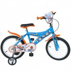 Bicicleta 16 inch Planes Toimsa - Bicicleta copii Toimsa, Portocaliu
