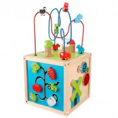 Cub educativ Farmyard - Jocuri Forme si culori