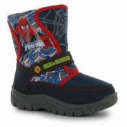 123123Cizme pentru zapada Spiderman 32 Character