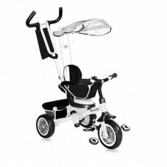 Tricicleta B301B Black White Bertoni - Tricicleta copii