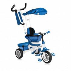 Tricicleta B301B Blue White Bertoni - Tricicleta copii
