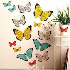 Sticker Decorativ pentru camere copii si living Pastel Butterflies Wallies