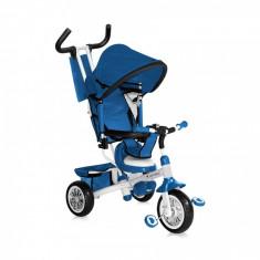 Tricicleta B302A Blue White Bertoni - Tricicleta copii