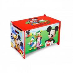 Ladita din lemn pentru depozitare jucarii Disney Mickey Mouse Delta Children