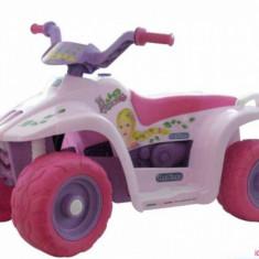 Quad Princess Peg Perego - Masinuta electrica copii Peg Perego, Roz