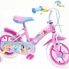 Bicicleta Disney Princess 12 inch Stamp - Bicicleta copii Stamp, Roz