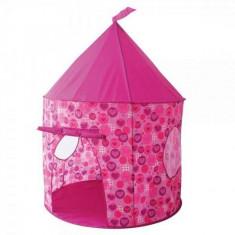 Cort de joaca pentru copii Hearts & Butterfly Knorrtoys - Casuta copii Knorrtoys, Roz