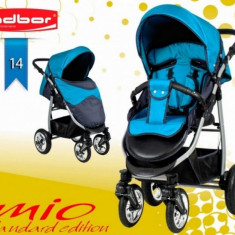 Carucior sport Mio Standard 14 (Grafit cu Turquoise) Adbor - Carucior copii Sport