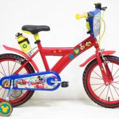 Bicicleta Mickey Mouse 16 inch Denver - Bicicleta copii