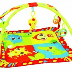 Covoras joaca Safari Paradise Cangaroo - Tarc de joaca Cangaroo, Multicolor