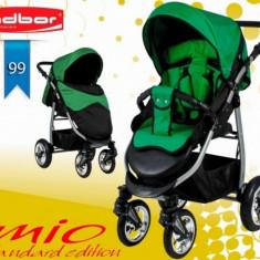 Carucior sport Mio Standard 99 (Negru cu Verde) Adbor - Carucior copii Sport