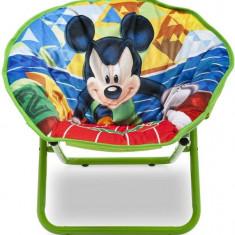 Fotoliu pliabil pentru copii Mickey Mouse - Masuta/scaun copii