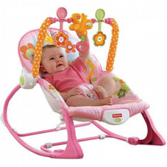 Balansoar bebe 2 in 1 Infant to Toddler Pink Fisher Price - Balansoar interior Fisher Price, Verde