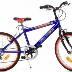Bicicleta seria Spiderman 20 inch Dino Bikes - Bicicleta copii