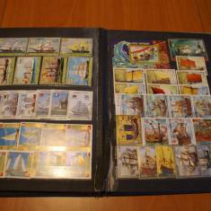 Clasor cu 37 de serii tematica transport maritim si 10 de blocuri stampilate - Timbre straine, Arta