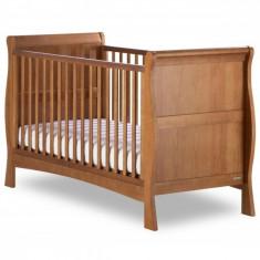Patut Bebe Bailey Stejar Izziwotnot - Patut lemn pentru bebelusi, Maro