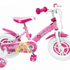 Bicicleta Barbie 12 inch Stamp - Bicicleta copii Stamp, Roz