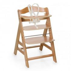 Scaun masa din lemn Alpha Plus Natural Hauck - Set mobila copii