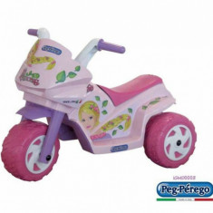 Motocicleta copii Mini Princess Peg Perego - Masinuta electrica copii Peg Perego, Roz