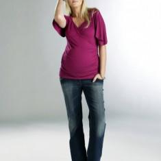 Jeans Indigo Clasic gravide Funmum S/78 cm FunMum - Blugi gravide
