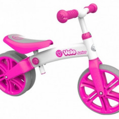 Bicicleta fara pedale Yvelo Junior Pink YBike - Bicicleta copii