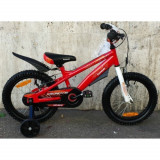 Bicicleta copii Kawasaki Krunch 16 inch Red Ironway