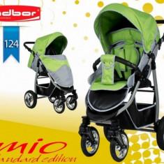 Carucior sport Mio Standard 124 (Gri deschis cu Verde deschis) Adbor - Carucior copii Sport
