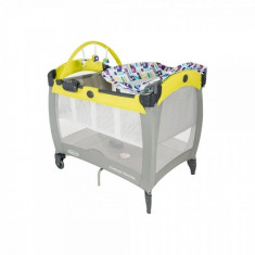 Patut Contour Electra Toy Town Graco - Patut pliant bebelusi Graco, 90X60cm, Galben