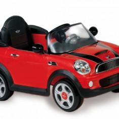 Masinuta electrica Mini Cooper S Rosu Biemme - Masinuta electrica copii