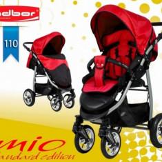 Carucior sport Mio Standard 110 (Negru cu Rosu) Adbor - Carucior copii Sport