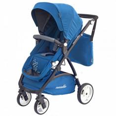 Carucior 2 in 1 Sereno C638 Blue Coccolle - Carucior copii 2 in 1