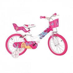 Bicicleta seria Barbie 14 inch Dino Bikes - Bicicleta copii