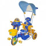 Tricicleta 2890AC Albastru EuroBaby - Tricicleta copii