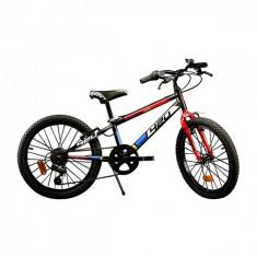 Bicicleta MTB 20 inch Negru Dino Bikes - Bicicleta copii