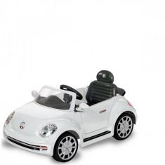 Masinuta electrica Maggiolino Volkswagen Alb Biemme - Masinuta electrica copii