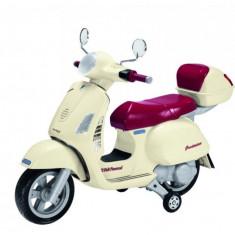 Motoscuter Vespa 12V Peg Perego - Masinuta electrica copii Peg Perego, Portocaliu
