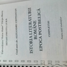 Istoria literaturii romane - Epoca postbelica Altele