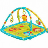 Covoras de joaca Safari turquoise BabyOno