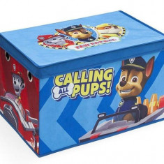 Cutie pentru depozitare jucarii Paw Patrol - Sistem depozitare jucarii