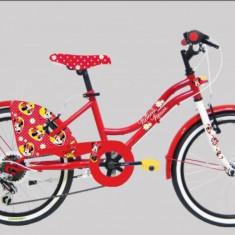 Bicicleta Minnie 20 inch Denver - Bicicleta copii DENVER, Roz