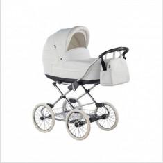 Carucior copii 2 in 1 Marita Prestige Deluxe S150 (Alb) Roan, Roz