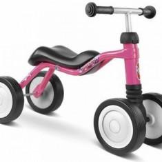 Tricicleta fara pedale Wutsch Roz Puky - Tricicleta copii