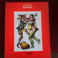 N. Batzaria Haplea. Alte patanii si nazdravanii, desene Marin Iorda - Carte educativa