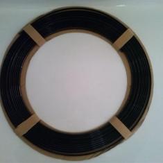 Ornament Decor Rola ptr usa streasina in forma de U Neagra 4mm x 15m AL-TCT-1977
